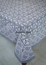 Hand Block Print Table Cover