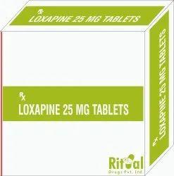 Loxapine 25 MG Tablets