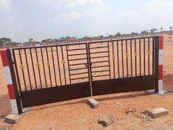 Brown Mild Steel Gate