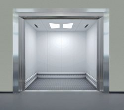 Stainless Steel Goods Lift Door