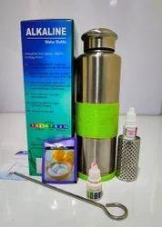 Alkaline Stainless Steel Water Bottle