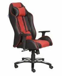 High Back Leatherette Gaming Any Time Chair Orange & Black (VJ-2024)