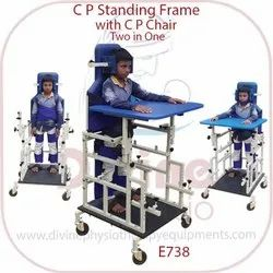 C P Standing Frame With C P Chair Two In One
