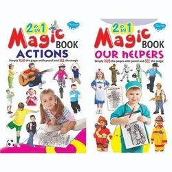 2 in 1 Magic Book Actions 12 Different Books