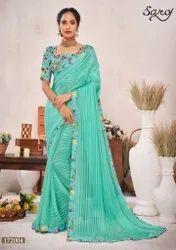 Ladies Fancy Party Wear Saree