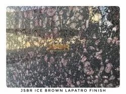 Ice Brown Granite Slab, For Flooring And Countertops, Thickness: 16 mm