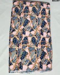 True Code Silk Digital Print Fabric