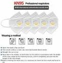 Safetynet K-N95 CE  KN95 Protective Mask with Elastic Earloop and Respirator (White)