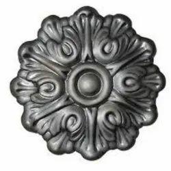 Stainless Steel Flower Railing Design, Material Grade: SS202