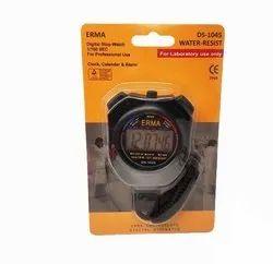 ERMA Waterproof Digital Stopwatch For Laboratory & Sports