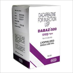 Dacarbazine Dabaz 500 Injection, Intas Pharmaceuticals