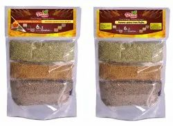 Raw 6 In 1 Unjha Spices Combo Pack, Packaging Size: 400 gms