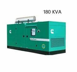 180 KVA Cummins Silent Diesel Generator Set