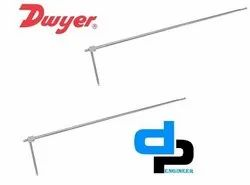 Dwyer 160-KIT Pitot Tube Kit Containing 160-18,160-24,160-36,160-48 and Carrying Case