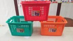 Multipurpose Plastic Baskets with handel