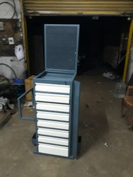 Automobile Tool Trolley 8 Drawers