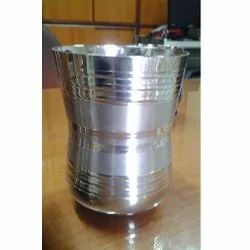 Stainless Steel Glass, Material Grade: 202, Capacity: 100 Ml