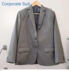Cotton Full Sleeves Mens Corporate Blazer