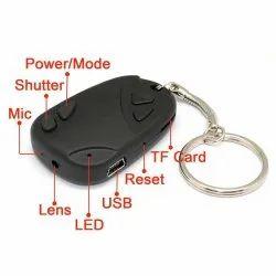 Black Spy Keychain Camera, For Security