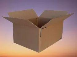 Brown Square 10inch Corrugated Box