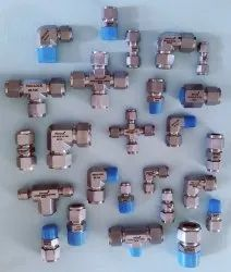 Ss Double Ferrule Compression Fittings