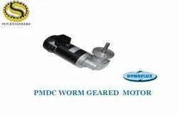 Pmdc Worm Geared Motor