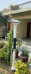 6W Garden Solar Bollard Light