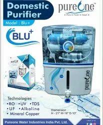 Pureone Blu+ Domestic Reverse Osmosis System, Model Name/Number: Blu Plus