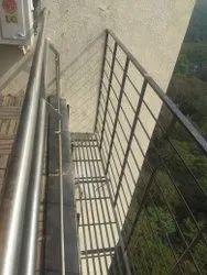 Mild Steel AC Platform With Railling