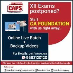 Exam Preparation Admission Open for CA Foundation Batch