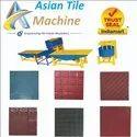 Concrete Interlocking Tiles Machine