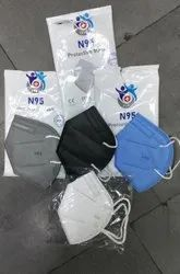 Disposable Reusable N95 Mask, Number of Layers: 3, Certification: Niosh