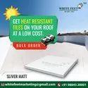 White Cooling Roof Tiles - White Feet Tile - Silverplus