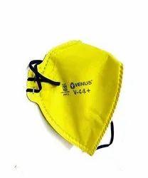 Venus Cloth V44+ FFP1 Respirator Mask, ISI Marked, Yellow (Pack : 1Box)
