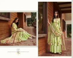 Zulfat Designer Siyahi Pure Cotton Printed Ladies Suits