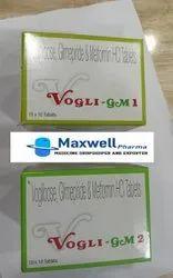 Metformin Glimepiride Voglibose Tablet