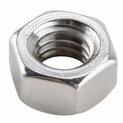 Stainless Steel Female Hex Nut, Size: 52 Mm