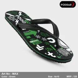 Poddar Multicolor Hawai Chappals, Size: 6*10, Article Number: Max-Hawai