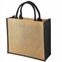 Office Jute Jewelry Bag