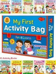 My First Activity Bag  Set Of 10 Fun And Learn Activity Books