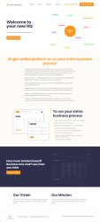 Enterprise Website Development Service