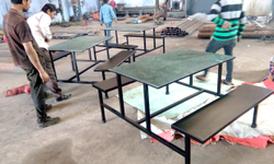 steel tech Ms Industrial Canteen Table