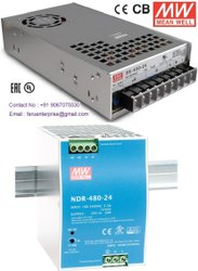 24VDC 20A Meanwell SMPS Power Supply