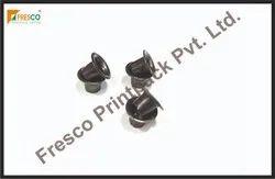 Plastic Round Black Eyelet, Packaging Type: Paper Bag