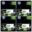 Hp 965xl Ink Cartridge Set B/c/y/m