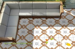 Marvel Ceramic Floor Tiles, Thickness: 8-18 Mm