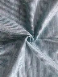 Casual Wear Grey Plain Linen Fabric, For Textile Industry
