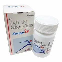 Hepcinat Lp (Ledipasvir/Sofosbuvir 90mg,400mg)