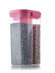 Drop-kart Rectangular 2146 Plastic Air Tight Food Storage Container, Capacity: 2000ml