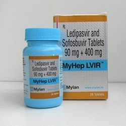 Myhep Lvir (Ledipasvir/Sofosbuvir 90mg,400mg)